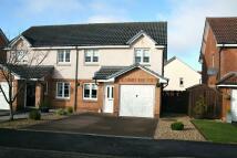 3 bedroom semi detached home for sale in Wishart Lane, ML8