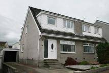 3 bedroom semi detached home in Andrew Place, Carluke...