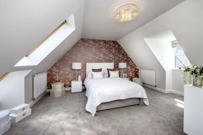 Moorecroft bedroom 2 at Spireswood Grange