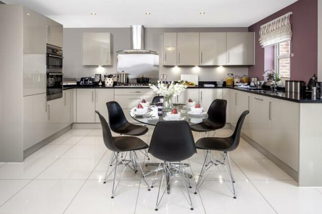 The Kemble kitchen