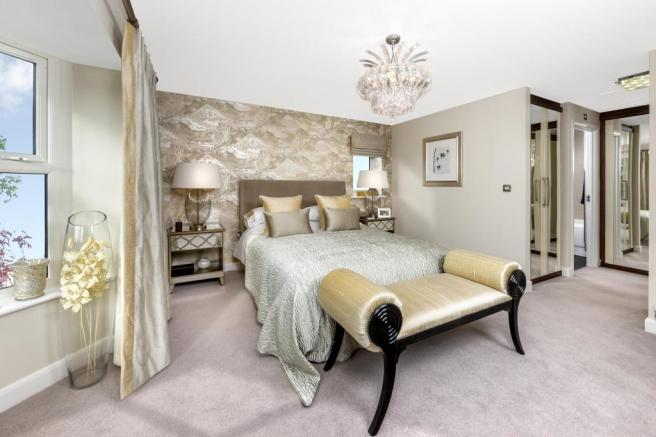 The Kemble master bedroom