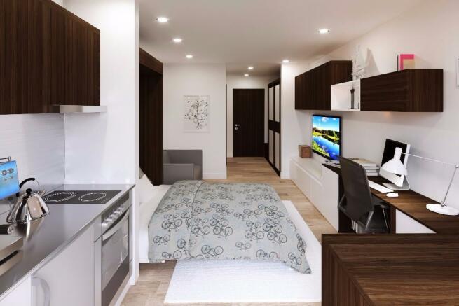 Bed / Bathroom
