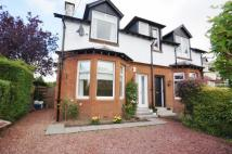 semi detached home in Park Road, Giffnock...