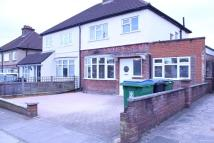 semi detached home in Beechwood Rise, Watford...