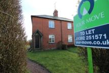 semi detached home to rent in Stoke Canon, Exeter, EX5