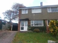 3 bed semi detached property in Little Meadow, Exmouth...