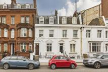 Terraced property in Pelham Street, Chelsea...