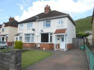 3 bed semi detached property in Waunfawr Park Road...