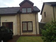 2 bedroom semi detached home in Leith Avenue, Stonehouse...