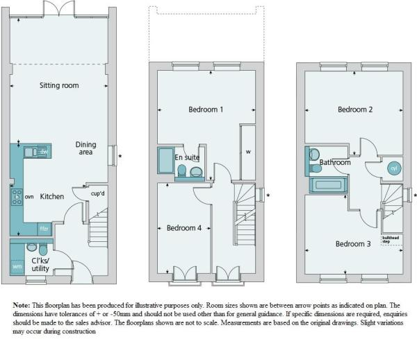 Floor Plans - The Ha