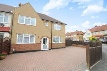 semi detached house in Court Crescent...