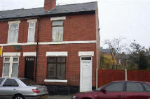Terraced house in Stables Street, Derby...