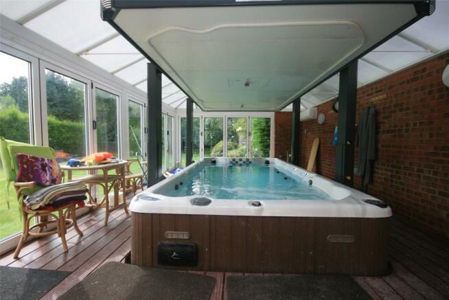 Swim Spa Pool Room