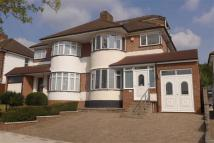 semi detached property in Vernon Drive, Stanmore...