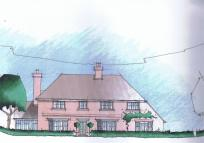 Detached home for sale in Lynsore Bottom...