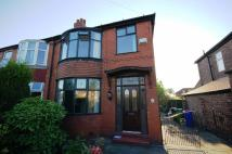 semi detached home in Burnage Lane, Burnage...