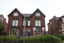 Studio flat in Belper Road, Derby...