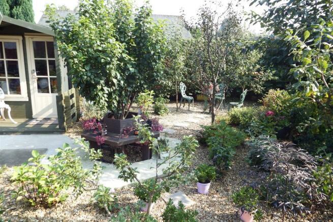 Hard Landscaped Gard