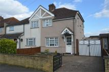 semi detached home in Dorset Road, ASHFORD...