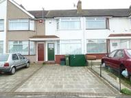 Terraced property in Lavernock Road...