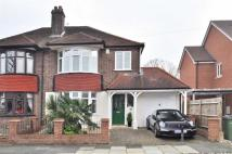 3 bed semi detached house in Montbelle Road...