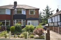 semi detached house for sale in Blackley New Road...