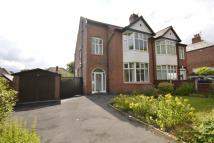 3 bed semi detached home in Rectory Lane, Prestwich...