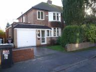 semi detached property in Coniston Drive, Wilmslow...