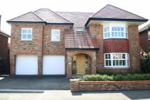5 bed Detached house in Chesham Road, Wilmslow...