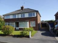 semi detached house in Wingfield Drive...