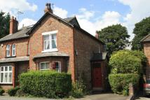 2 bedroom semi detached home for sale in Knutsford Road...
