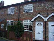 2 bedroom Terraced property in Park Road, WILMSLOW...