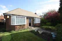 Detached Bungalow in Northenden Road, SALE...