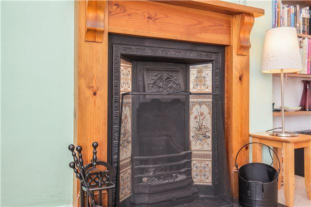 Fireplace in Lounge/Diner