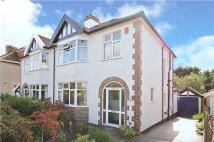 3 bed semi detached house in Birchall Road, Redland...