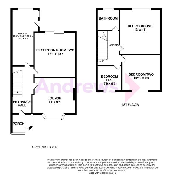 7 Saltwell Avenue Floorplan