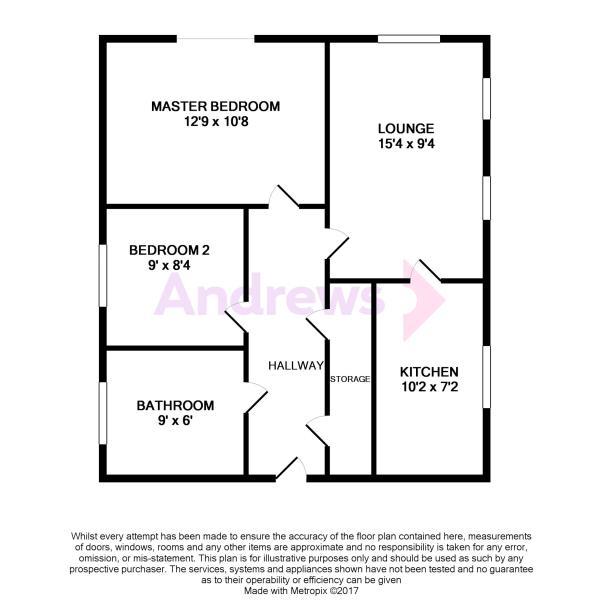 6 Fairacres Close Floorplan