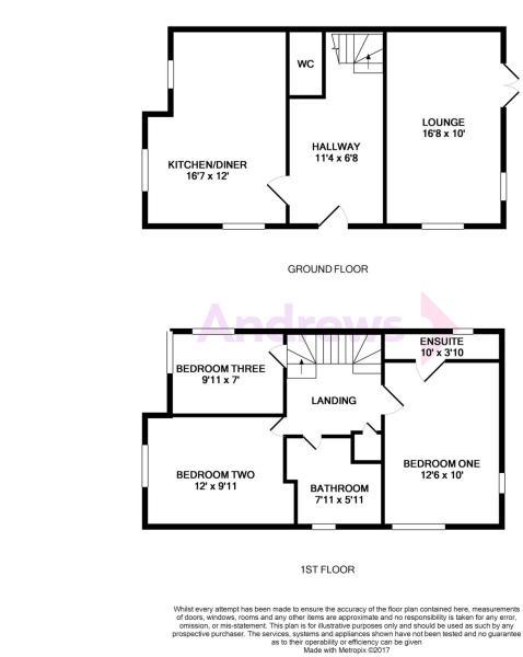 7 Titus Way Floorplan
