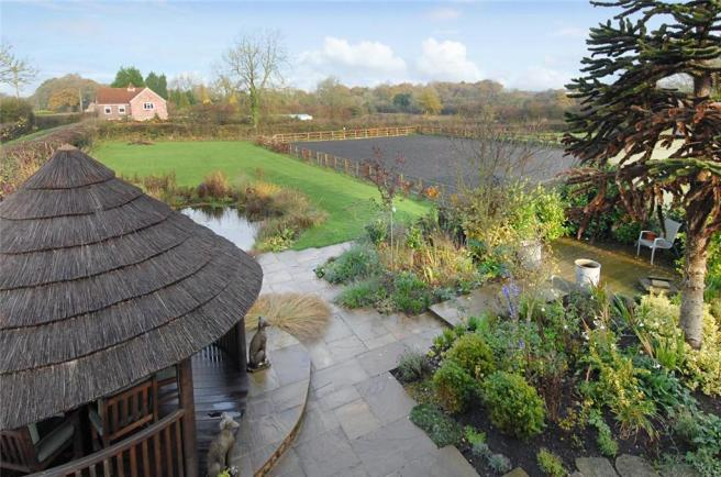 View of Garden/Paddock and Menage