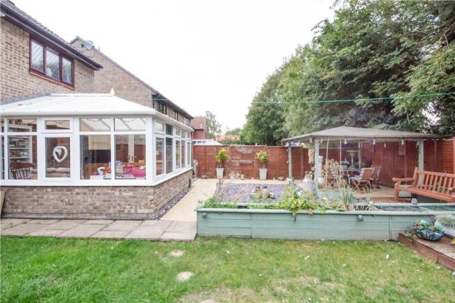 Rear garden / conservatory