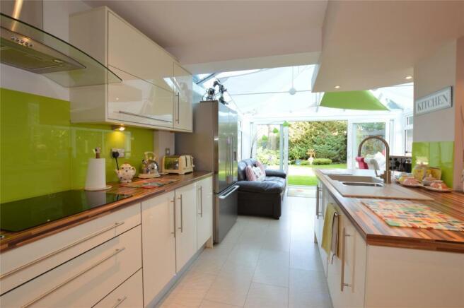 Kitchen / conservatory
