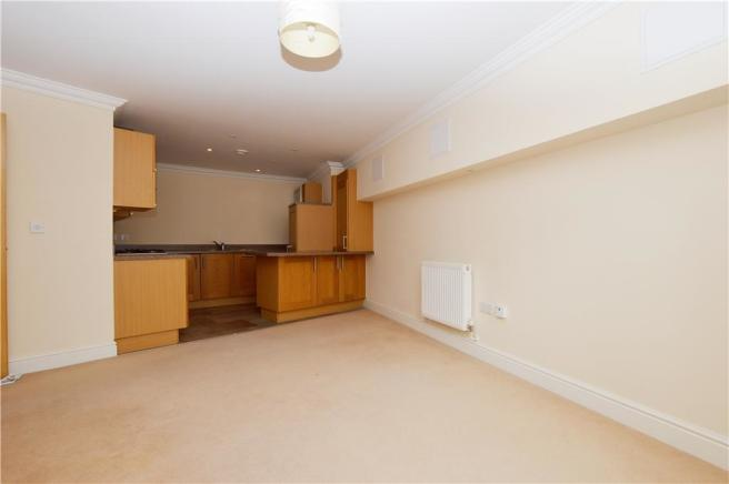 Living area to Kitchen