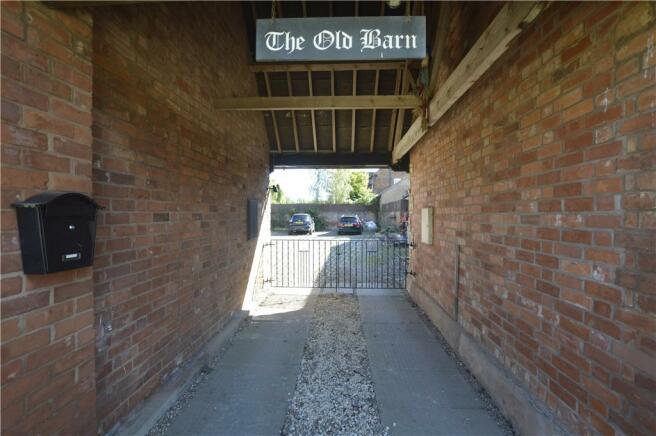 Parking Entrance