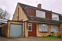 3 bed semi detached home in Evans Close, Eynsham...