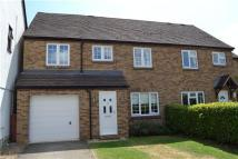 semi detached property in Manor Road, WITNEY...