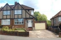 3 bedroom semi detached home for sale in Brigstock Road, Coulsdon...