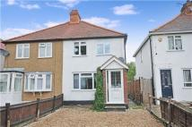 2 bedroom semi detached home in Ridge Road, SM3 9LZ