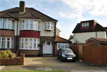 semi detached property for sale in Woodlands Avenue...