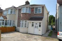 3 bedroom semi detached home in York Avenue, STANMORE...