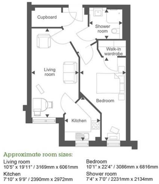 Plot 1 The Dairy (1 Bed)